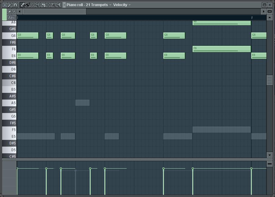 piano fl studio trap